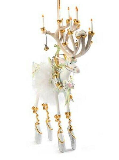 New Patience Brewster Moonbeam Dancer Reindeer LARGE Ornament Dash Away