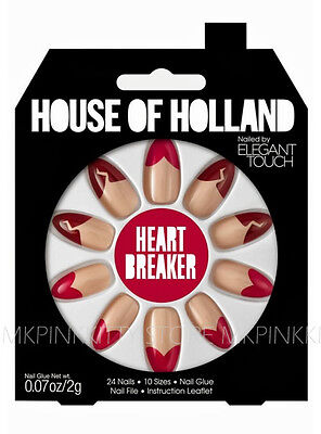 House Of Holland Nails By Elegant Touch - HEART BREAKER >> (MK/SALE)