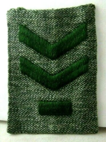 SENIOR PATROL LEADER Gray-Green CHEVRONS 1928 Girl Scout Patch SQUARE Insignia