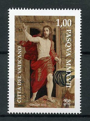 Vatican City 2017 MNH Easter 1v Set Jesus Religion Stamps