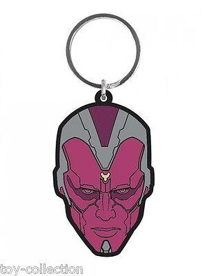Vision - Age of Ultron - Gummi Schlüsselanhänger / rubber keychain