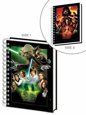 Star Wars (Choose A Side) Hardback A5 Notebook - SR71740