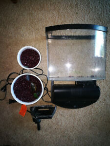 2.5 Gallon Aquarium Set
