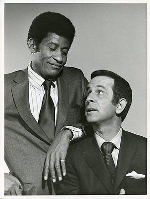 Don Adams Rupert Crosse Portrait The Partners Original 1971 Nbc Tv Photo