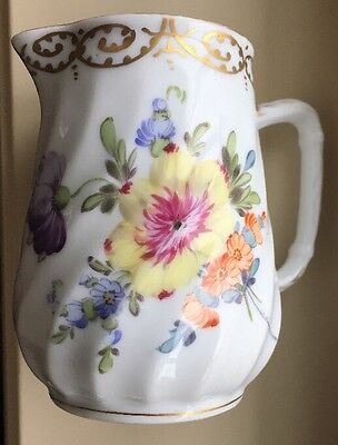 RARE⭐️Royal Bavarian Hand Painted Creamer / Pitcher⭐️T.Goode & Co. London