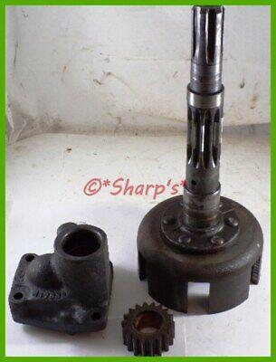 Aa5667r A4793r John Deere 60 Pto Clutch Pack Drum With Oil Pump Genuine