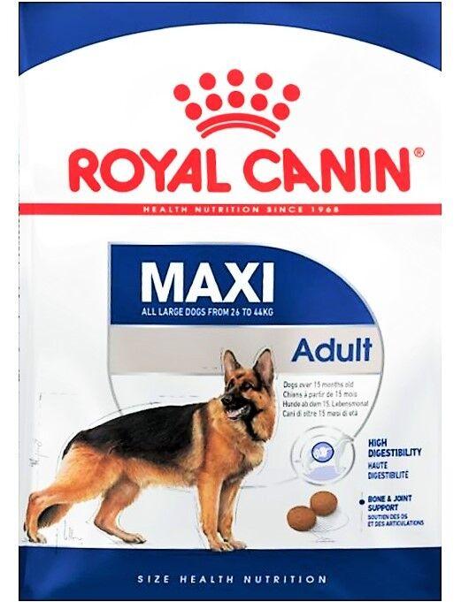 Royal Canin Maxi Adult 26 – Hundefutter, Trockenfutter - für große Hunde – 15 kg
