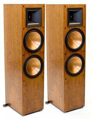 Klipsch Rf 7 Ii Reference Tower Speakers Cherry Finish Pair B Stock New
