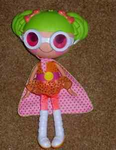 Lalaloopsy Doll - Dyna Might  and pet Racoon