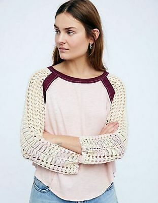 Free People Finders Keepers Boho Crochet Top Size Small S New Nwt  108