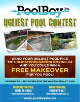 "Enter our ""UGLY POOL CONTEST"""