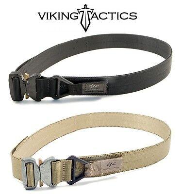 Viking Tactics VTAC 1.75 Inch Cobra Belt-Coyote & Black-Choose Your Size & Color