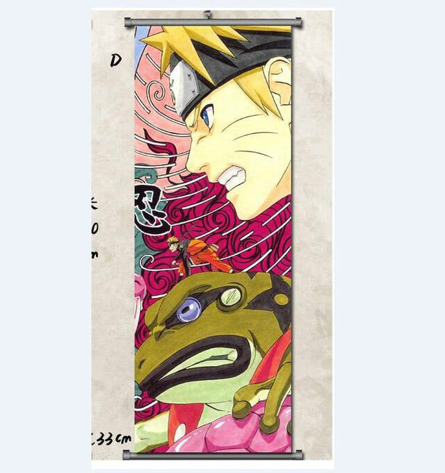 Naruto SHIPPUDEN Uzumaki Naruto Home Decor Japanese Poster Anime Wall Scroll