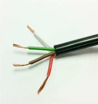 4 Core Colour Cable - Kit Car Cabling Connect Multi Core Flex Wire 5.75Amp Load
