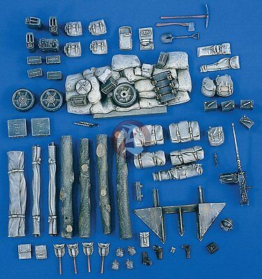 Used, Verlinden 1/35 M4 Sherman Tank Stowage & Accessories Set (for Tamiya 35190) 1808 for sale  Shipping to Canada