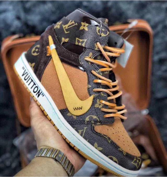 sports shoes 8167a 2a438 Louis Vuitton Nike air Jordan LV Jordan s