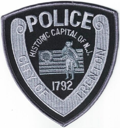City of Trenton Police SWAT New Jersey Patch