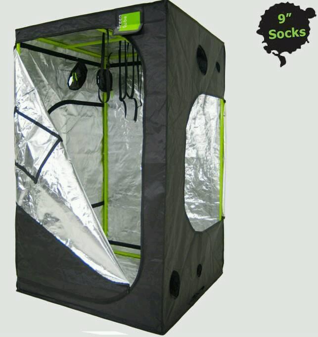 Green Qube 120 MK2 GROW TENT INDOOR GREENHOUSE HYDROPONICS & Green Qube 120 MK2 GROW TENT INDOOR GREENHOUSE HYDROPONICS | in ...
