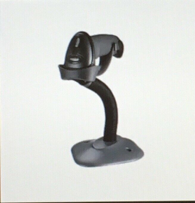 Gooseneck Stand For Barcode Scanner LS22XX Black 20-61019-02R New Stand Only