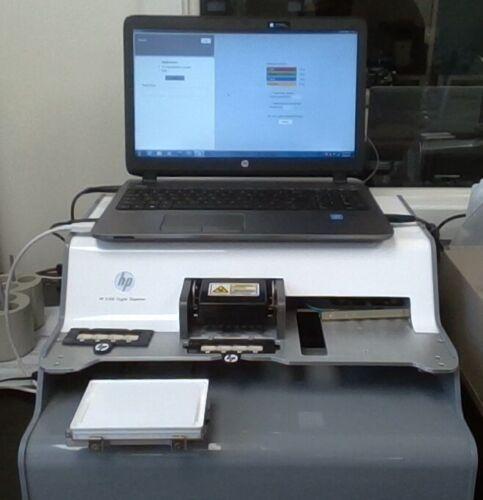 HP D300 Digital Nanoliter Microplate Dispenser - with 82 Dispensing Cartridges