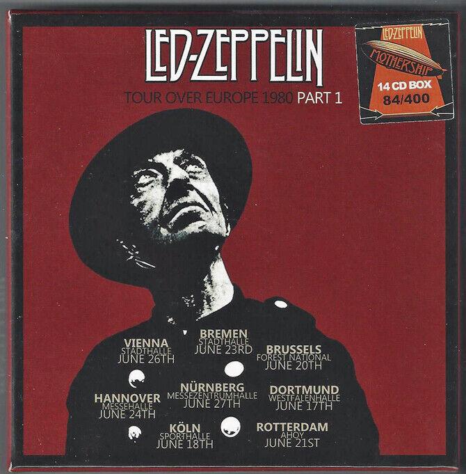 ORIGINAL LED ZEPPELIN TOUR OVER EUROPE 1980 PART 1 - $160.00
