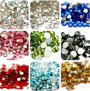 TOP-Quality-SS3-SS40-Crystal-Flatback-Nail-Rhinestones-Nail-Art-Decoration-DIY