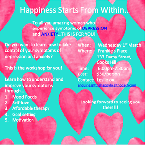 Happiness starts From Within Newcastle Newcastle Area Preview