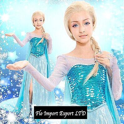Frozen - Vestiti Carnevale Elsa  - Dress up Elsa Costumes (Elsa Dress Up Kostüm)