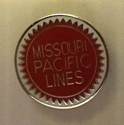 Missouri Pacific Railroad  Hat Pin Train Railway Lapel RR Buzz saw