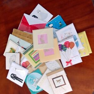 50+ Assorted greeting cards...