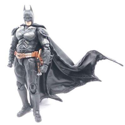 """SU-C-MZB: 1/12 scale Black Wired Cape for Mafex SHF 6"""" Batman (No figure)"""