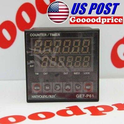Hanyoung Digital Countertimer Preset 6digits Ge7-p61a 100-240vacfast Shipping