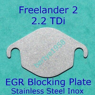 EGR Valve Blanking Plate 2.2L Freelander 2 Evoque TD4 TD4e SD4 eD4 Discovery SD4