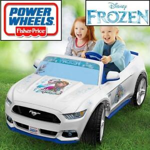 OB FISHER PRICE FROZEN RIDE ON TOY DYK80 189359406 POWER WHEELS DISNEY FORD MUSTANG SMART DRIVE OPEN BOX