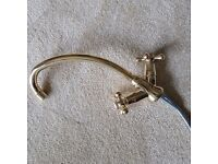 BRASS TYPE SWAN NECK VIRTUALLY NEW TAP