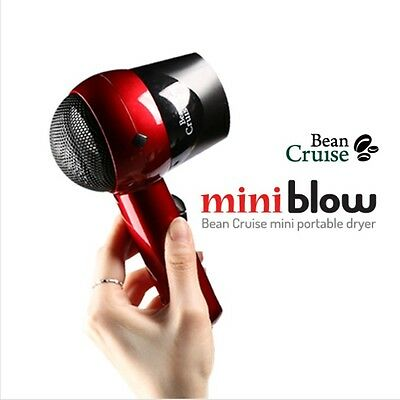 NEW BEAN CRUISE Mini Dual Voltage Hair Dryer BCD 1000 For Fast Styling OnTravel