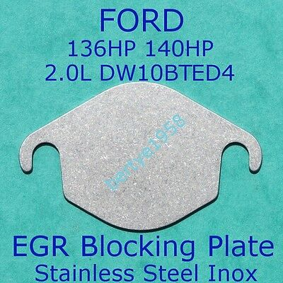 EGR Valve Blanking Plate Ford 2.0 TDCi C-Max S-Max Galaxy Focus Kuga MK4 Mondeo