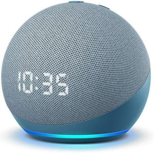 Amazon Echo Dot 4th Gen 2020 Smart Speaker Twilight Blue *BRAND NEW, SEALED*