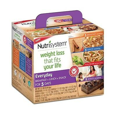 Nutrisystem Flex Everyday 5 Day Weight Loss Kit Free Shipping