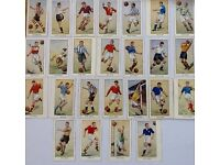 Famous football cards issued with Wizard in 1955