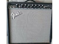 Fender Champion 40 watt guitar amp with effects. Half new price!