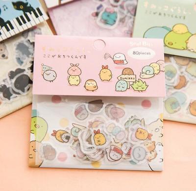 Japan Sumikkogurashi Sticker Lot Sumikko gurashi SAN-X  80 sheet