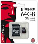64GB Micro SDCX Kingston class 10 - 45MB/s