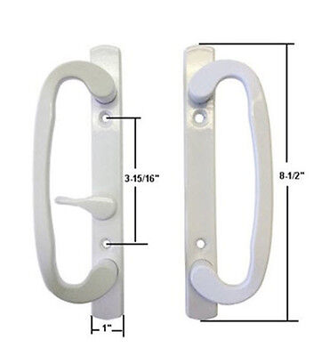Sash Controls Mortise Style Patio Handle, B-Position, Non-Keyed, -