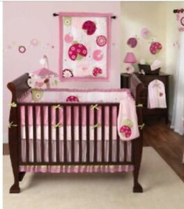 Crib bedding and mattress