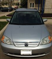 Safety/Emision Certified Auto 2001 civic LX Sedan