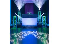 KISS Entertainment DJ Services - (Wedding/Mehndi/Walima) - Event Party Lighting Hire Asian Indian