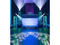 KISS Entertainment DJ Services - (Wedding/Mehndi/Walima) - Party Lighting Hire Asian Dancefloor PA