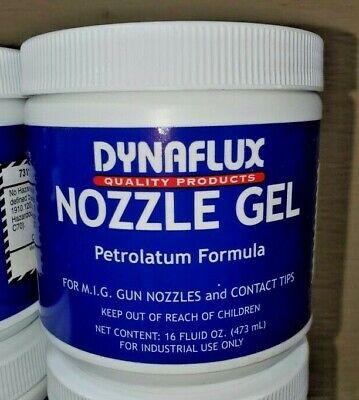 Dynaflux Mig Welding Nozzle Gel Tip Dip 16oz Welder 1 Lb