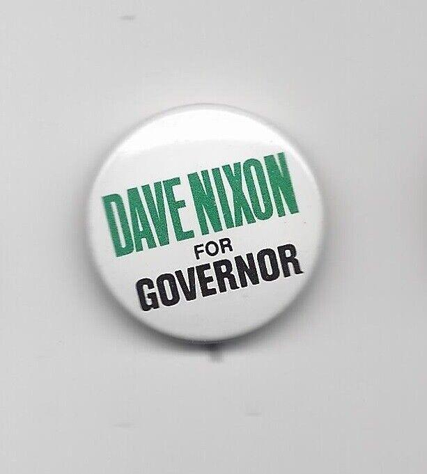 David Nixon New Hampshire (R) Governor candidate 1974 political pin button